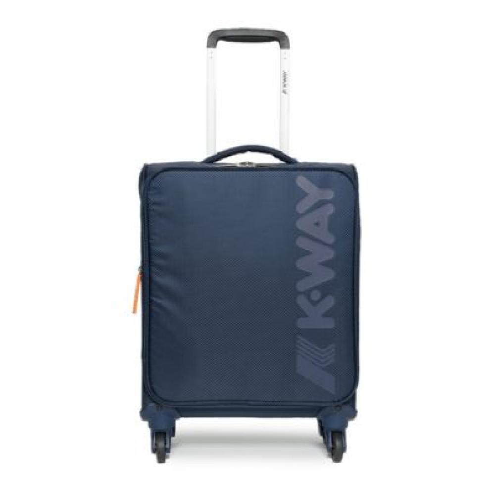 k-way trolley cabin 55/40/20 semirigido blu