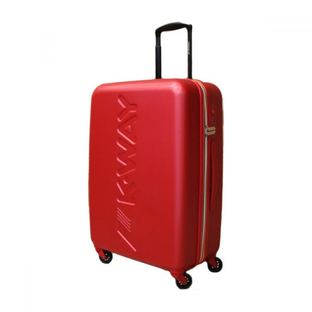 k-way trolley medio rigido  rosso