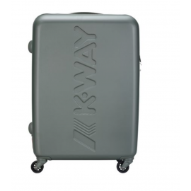 k-way trolley medio rigido VERDE MILITARE