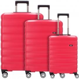 Bric's rimini set completo di 3 bagagli - colore ciliegia  BRJ06303.192