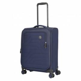 Bric's itaca trolley bagaglio a mano 55 cm espandibile 4 ruote blu B2Y08361