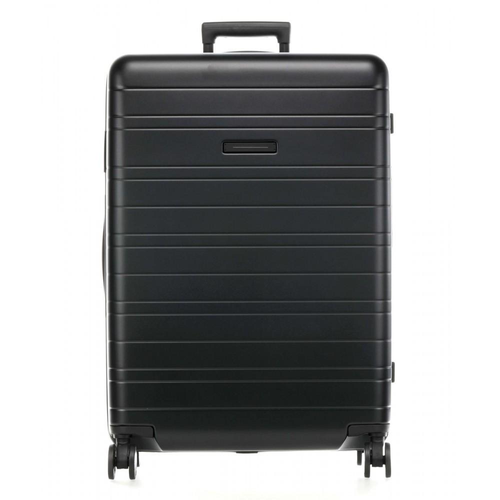 Horizn Studios H7 Check-In Luggage all black (90L) horizn trolley bagaglio da stiva grande 4 ruote in policarbonato aerospaziale nero HS7NJZ