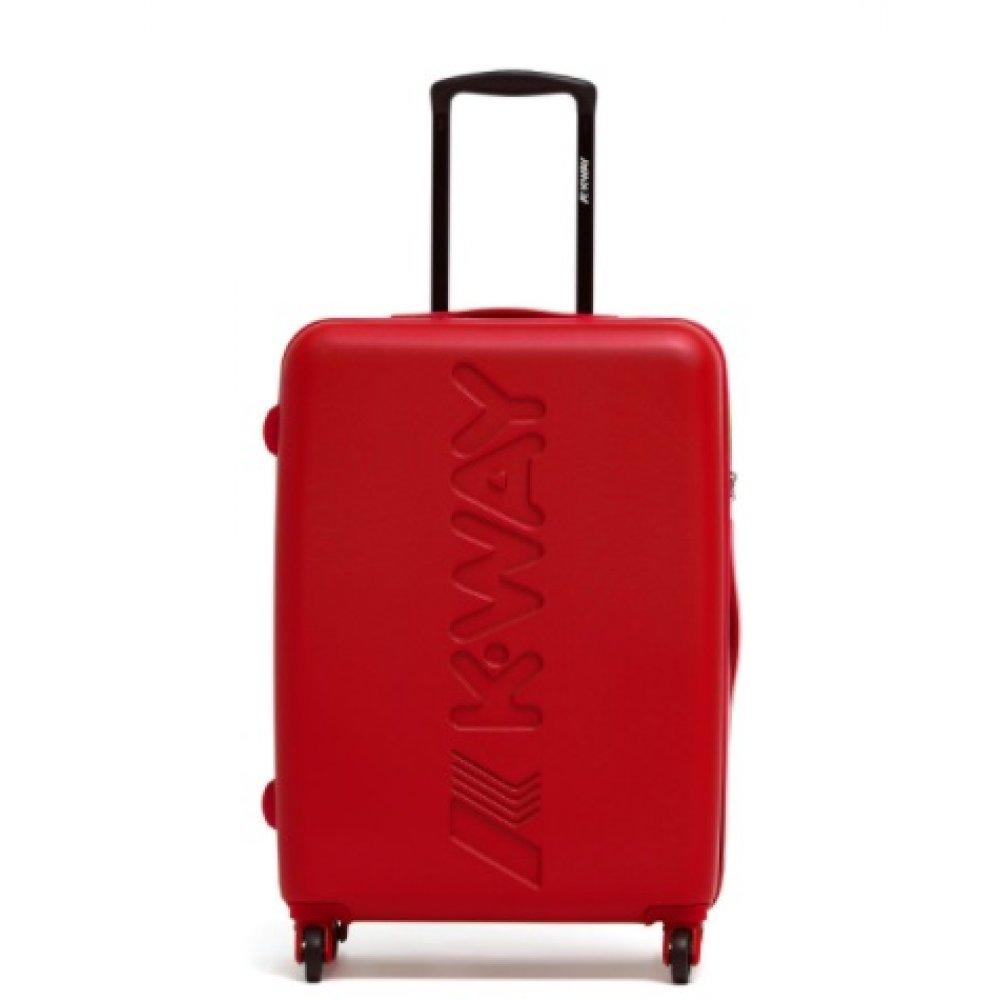 Trolley medio rosso K-way 8AKK1G02A1N