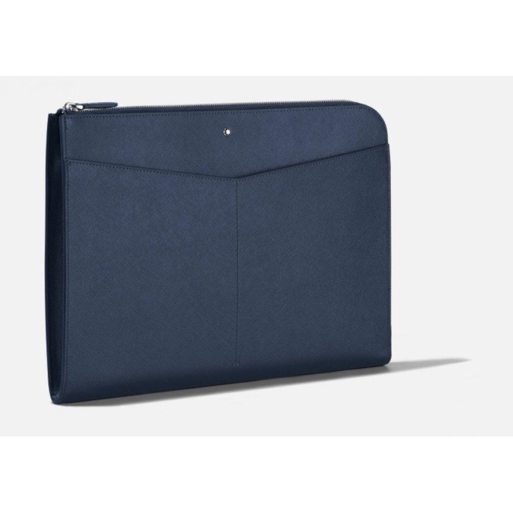 Portadocumenti Montbalnc Sartorial Blu 128558