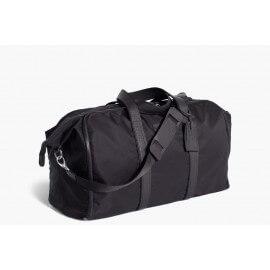 ludovico marabotto borsone con porta abiti  riccardo  nylon nero/jacquard f7149