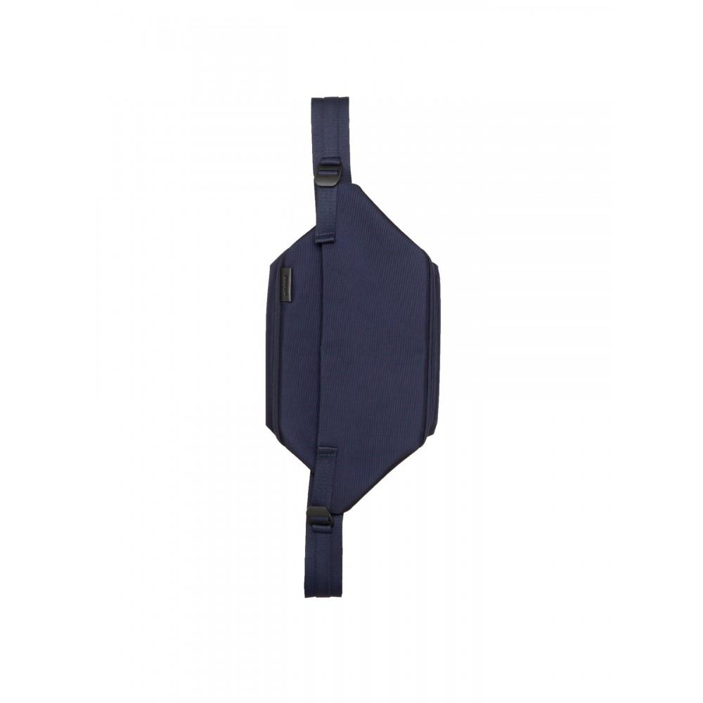 Côte&ciel Isarau Ballistic Blue 28812 marsupio borsa a tracolla in tessuto tecnico impermeabile e cerniere elettrosaldate