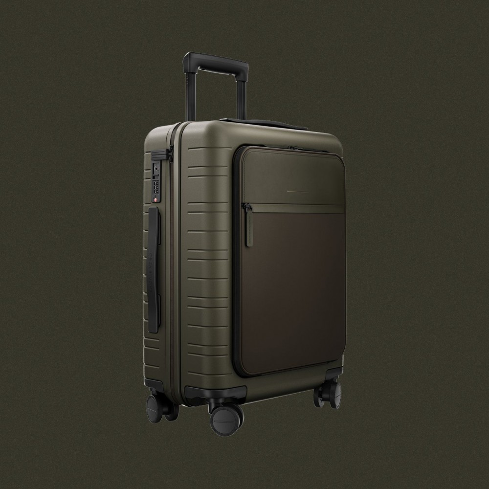 Horizn Studios M5 trolley bagaglio a mano colore verde oliva LG117231803CH00501U