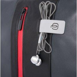 Zaino fast-check porta Pc Piquadro grigio/nero CA4550UB00BM/GRN