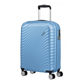 American Tourister jetglam Trolley (4 Ruote) 55Cm S Metallic Powder Blue 122816-8328 71G71001