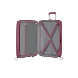 American Tourister Soundbox Trolley Espandibile (4 Ruote) 77Cm Dark Burgundy 88474-2569 32G40003 bagaglio grande