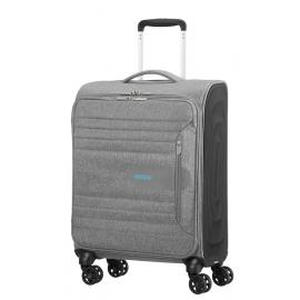 American Tourister SONICSURFER Spinner (4 Ruote) S Metal Grey