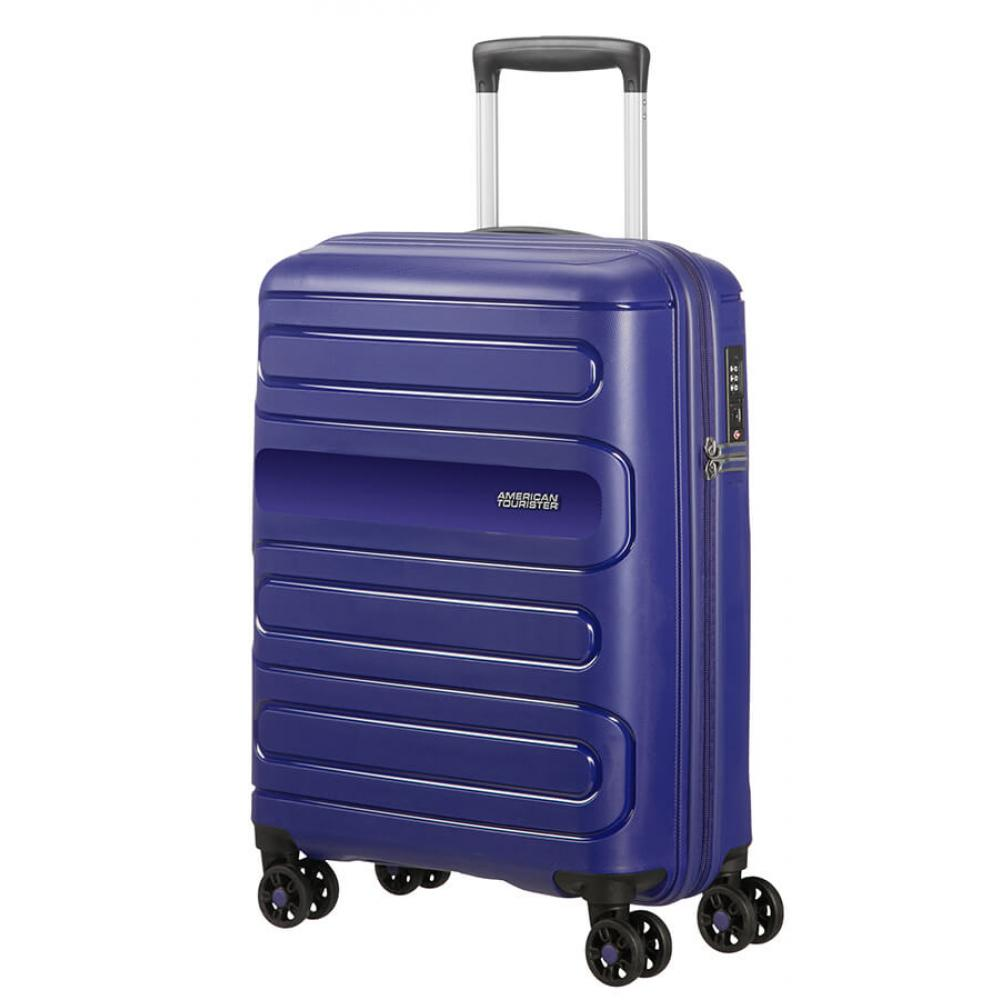 American Tourister SUNSIDE Spinner (4 Ruote) S Navy