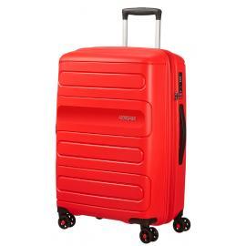 American Tourister SUNSIDE Spinner Espandibile (4 Ruote) 68Cm Sunset Red 107527-0409 51G00002
