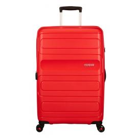 American Tourister SUNSIDE Spinner Espandibile (4 Ruote) 77Cm Sunset Red