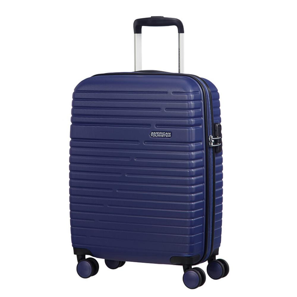 American Tourister aero racer Trolley (4 Ruote) 55 cm Nocturne Blue 116988-2375 61G21001