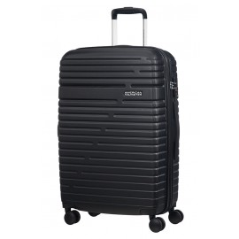 American Tourister aero racer Trolley (4 Ruote) 68Cm Jet Black 116989-1465 61G09002