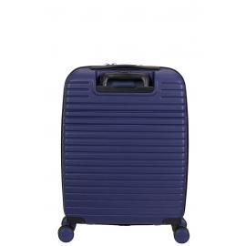 American Tourister aero racer Trolley (4 Ruote) 55 cm Nocturne Blue con tasca frontale esterna porta PC, tablet e documenti 121750-2375 61G21005