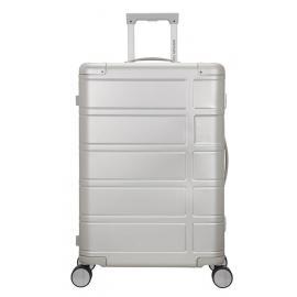 American Tourister alumo Trolley (4 Ruote) M 67 cm Silver alluminio 70G25002 122764-1776
