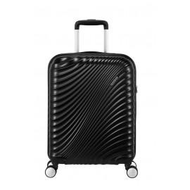American Tourister jetglam Trolley (4 Ruote) 55Cm S Metallic Black bagaglio a mano 122816-2368 71G19001