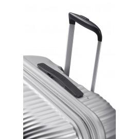American Tourister jetglam Trolley (4 Ruote) 77Cm Metallic Silver grande 122818-1546 71G25003