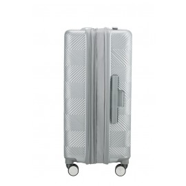 American Tourister Flylife Trolley (4 Ruote) 67Cm Sky Silver 125244-6260 81G25002