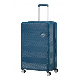 American Tourister Flylife Trolley (4 Ruote) 77Cm Petrol Blue 125246-1686 81G11003