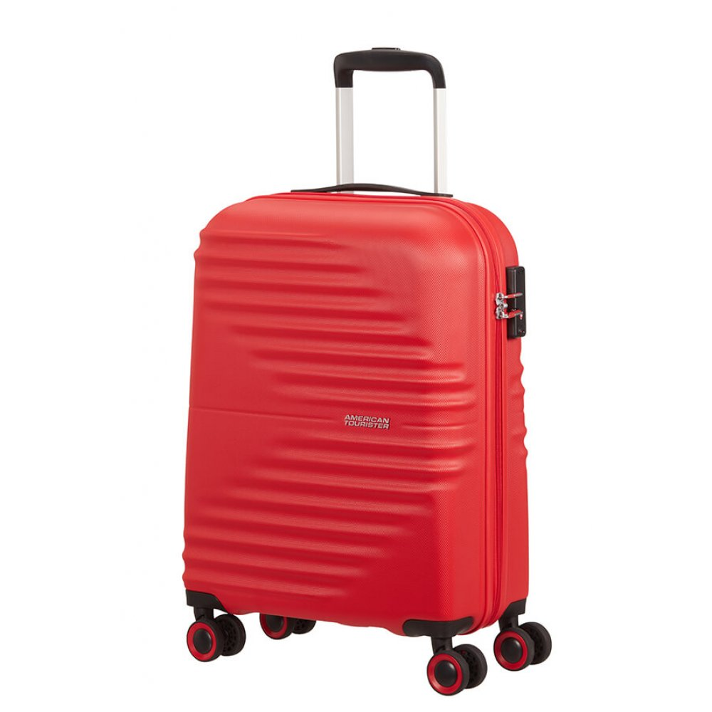 American Tourister, trolley (4 ruote) 55cm s vivid red 131989-1898 MA000001