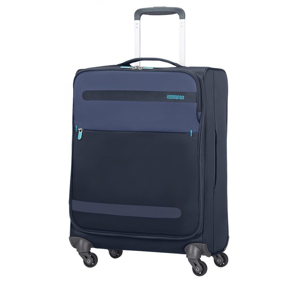 American Tourister Spinner (4 Ruote) S Midnight Blue