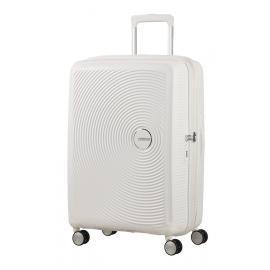 American Tourister SOUNDBOX Spinner Espandibile (4 Ruote)  Pure White