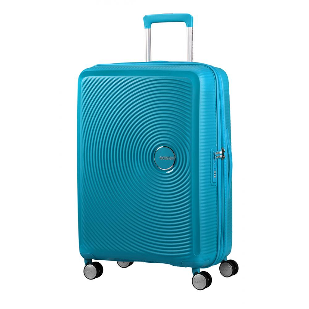 American Tourister Spinner Espandibile (4 Ruote)  Summer Blue