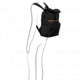 Bric's Zaino eolo Design Medio BY Nero zaino con scomparto porta documenti e porta PC B3Y04493.001