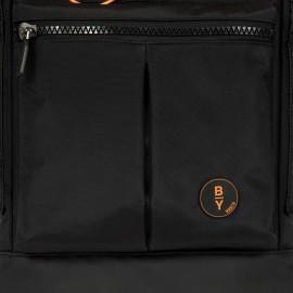Bric's Zaino eolo Explorer Piccolo BY Nero B3Y04494.001 zaino con scomparto dedicato porta PC impermeabile con apertura a sacca