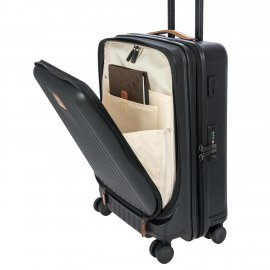Bric's Trolley Da Cabina Capri Nero con tasca BRK28028.101