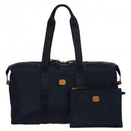 Bric's, borsone medio 2 in 1 x-bag blu oceano BXG40202.050