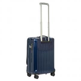 Bric's Trolley Da Cabina Con Tasca Frontale Blue BRE08028