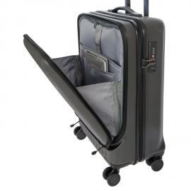 Bric's Trolley Da Cabina Con Tasca Frontale Ash Gray BRE08028