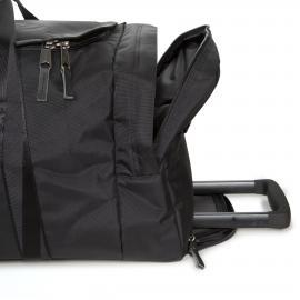 Eastpak Leatherface M Constructed Black borsone con ruote misura media EK13B46Q