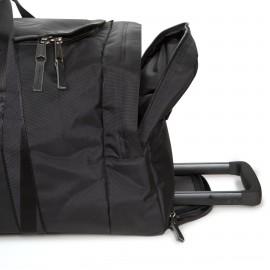 Eastpak Leatherface L Constructed Black borsone con ruote misura grande  EK14B46Q
