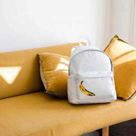 Eastpak zaino Padded Pak'r® Leather Banana