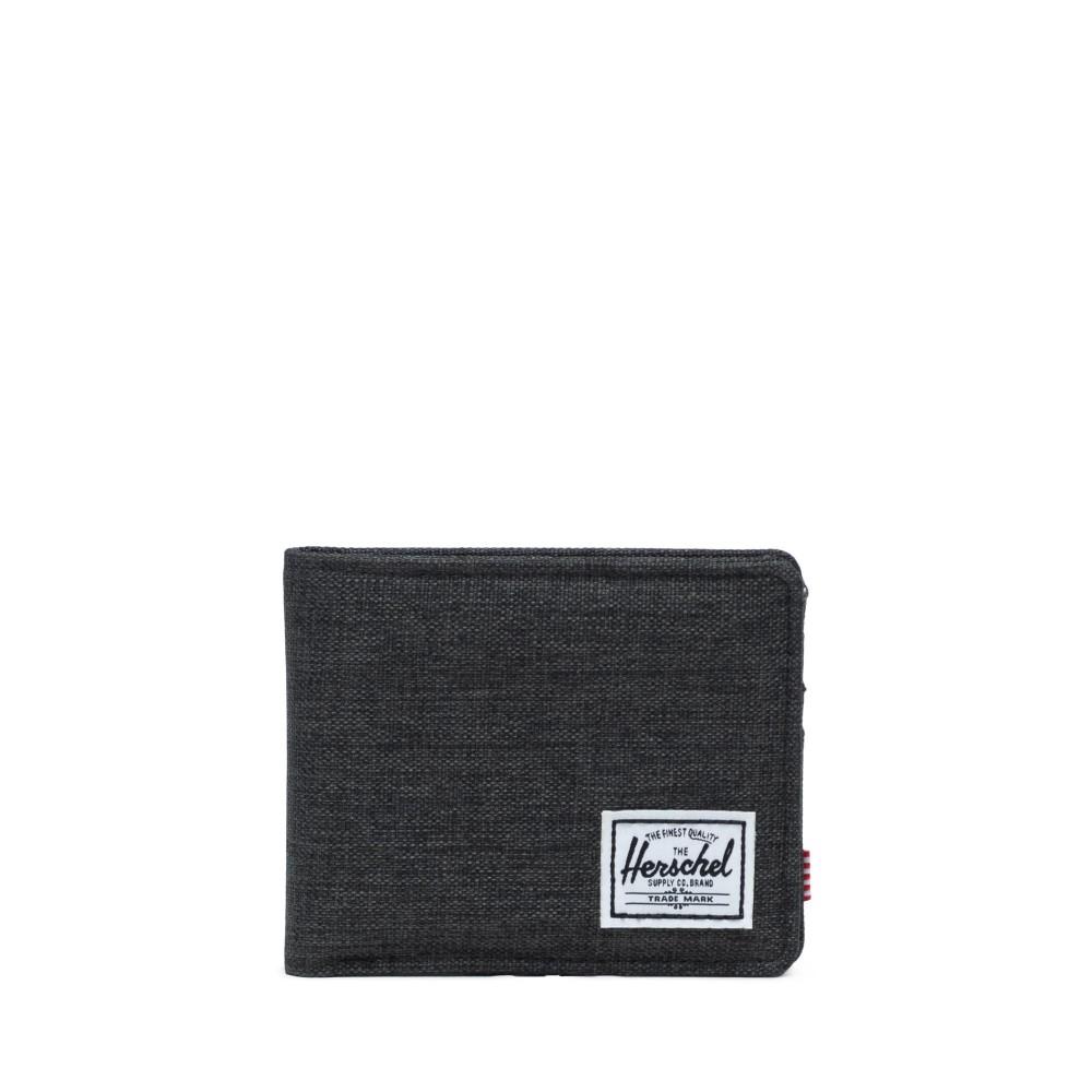 Herschel Roy Wallet Black Crosshatch 66419A09702090