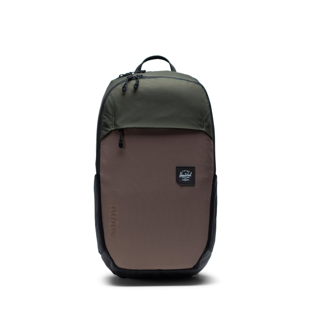 Herschel Mammoth Backpack  Medium Dark Olive Multi 10711-03067-OS 66419T00603067