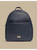 La Martina Valentina Backpack Navy zaino blu