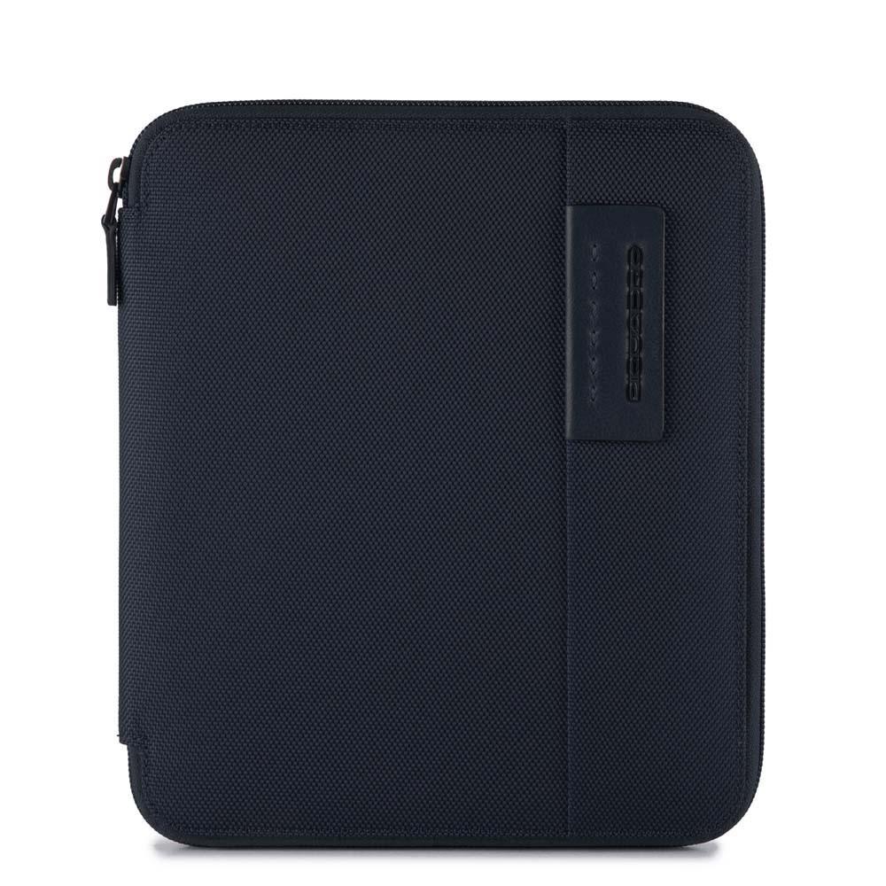 Piquadro Portadocumenti Sottile Formato A5 Con Porta Penne Blu Notte AC3749P16