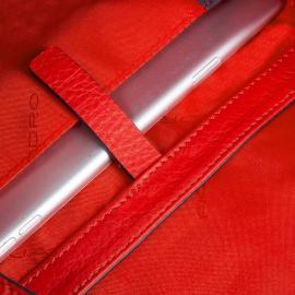 Piquadro Tracolla Media Modello Cacciatora Rosso Scarlatto BD4631MU