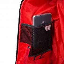 Piquadro Trolley Cabina/zaino Porta Pc E Ipad® Persona Grigio/nero BV4817UB00