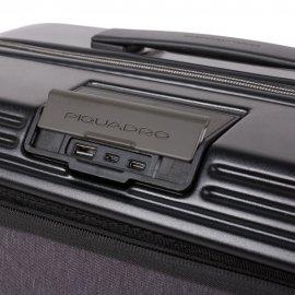 Piquadro Cartella Trolley Porta Pc E Porta Ipad® Con Placc Nero BV5400BIZDBM/N