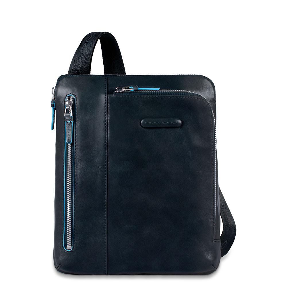 Piquadro Borsello Porta Ipad/ipad®Air, Doppia Tasca Frontale Blu Notte CA1816B2/BLU2