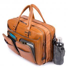 Piquadro Borsa Espandibile Porta Pc E Porta Ipad®10 Blu Notte CA2765B2S
