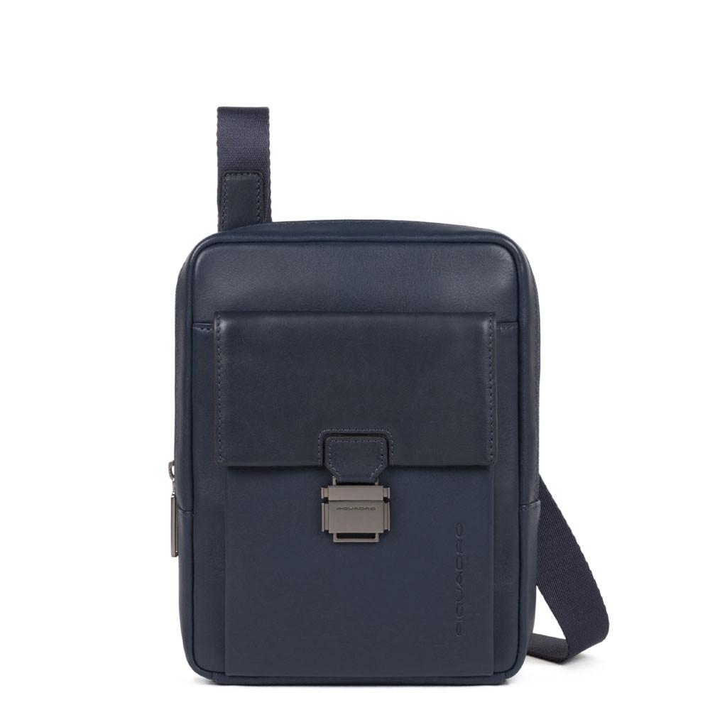 Borsello piccolo Piquadro Blu Ottanio CA3084S111/BLU