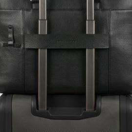 Piquadro Cartella Porta Computer Espandibile Con Patta E Scomparto Porta Ipad®Air/air2 Modus Nero